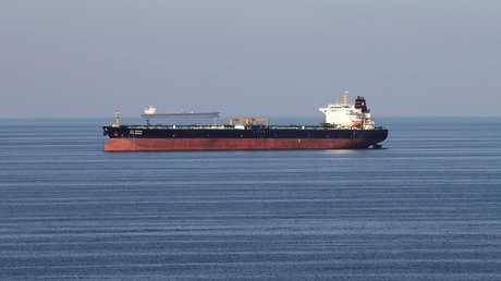 Petroleros en el estrecho de Ormuz, el 21 de diciembre de 2018