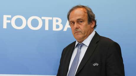 El expresidente de la UEFA, Michel Platini.