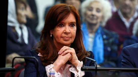 Cristina Fernández de Kirchner en un tribunal en Buenos Aires, Argentina, 21 de mayo de 2019.