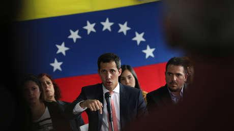 El diputado opositor venezolano, Juan Guaidó, en Caracas, Venezuela, el 17 de junio de 2019