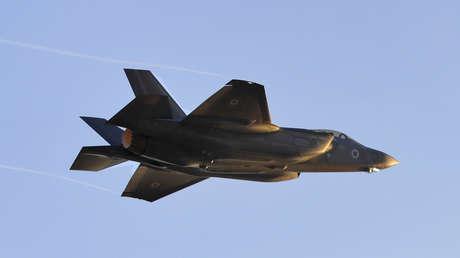 Un caza F-35 Lightning II de la Fuerza Aérea de Israel.