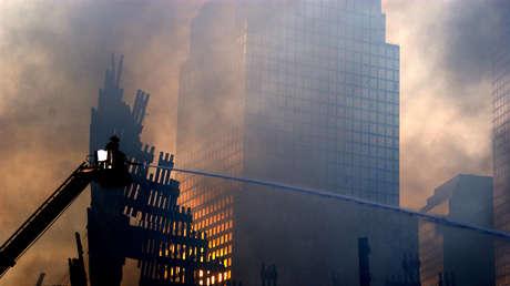 Limpieza de la Zona Cero tras los ataques terroristas del 11 de septiembre de 2001.