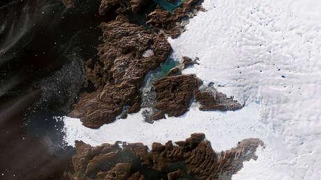 El glaciar Jakobshavn, Groenlandia, el 6 de junio de 2019