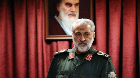 El portavoz del Estado Mayor General de las Fuerzas Armadas iraníes, el general de brigada Abolfazl Shekarchi.