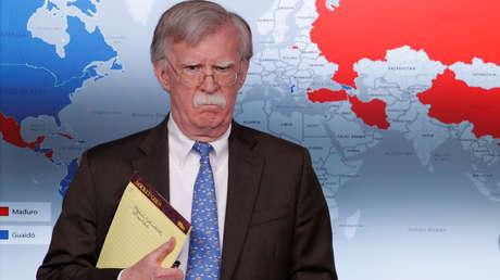 El asesor de Seguridad Nacional de EE.UU., John Bolton.