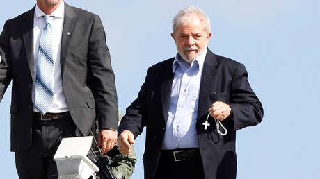 El expresidente Luiz Inacio Lula de Silva. Curitiba, Brasil. 2 de marzo de 2019.