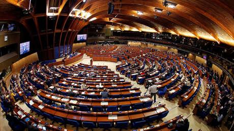 Un debate en la Asamblea Parlamentaria del Consejo de Europa en Estrasburgo (Francia), el 25 de abril de 2017.