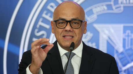 El ministro de Comunicación, Jorge Rodríguez.