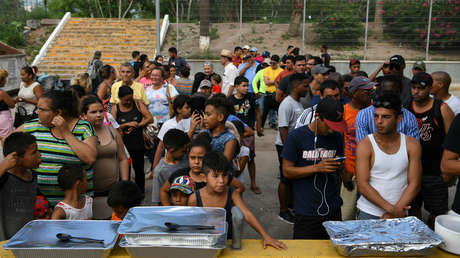 Solicitantes de asilo en un puerto de entrada en Matamoros, Tamaulipas, México, el 26 de junio de 2019.