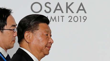 Xi Jinping durante la cumbre del G20 en Osaka (Japón), el 28 de junio de 2019.