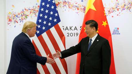 Donald Trump y Xi Jinping en la cumbre del G20 en Osaka, Japón, el 29 de junio de 2019.