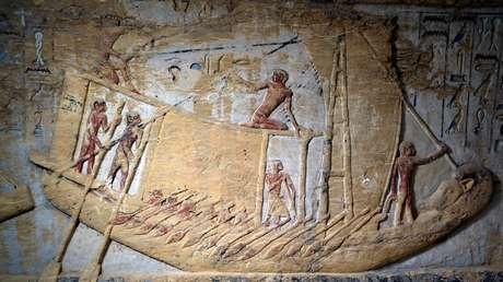 Imagen ilustrativa. La tumba del sacerdote Wahtye, hallada cerca de la necrópolis de Saqqara, en Egipto.