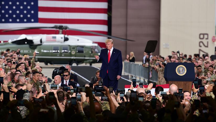 """Trump se jacta de construir nuevas armas nucleares que espera """"nunca usar"""""""