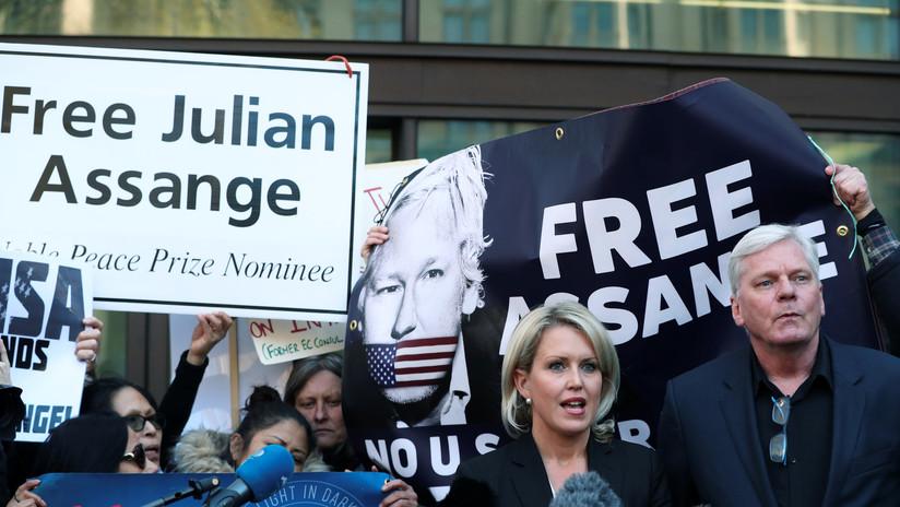 WikiLeaks: El encarcelamiento de Assange fue tramado para complicar su defensa contra una extradición a EE.UU.