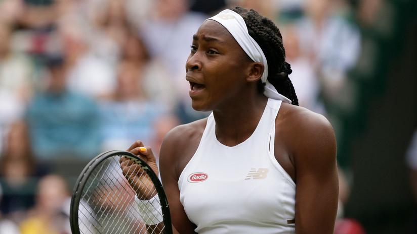 Nueva estrella de Wimbledon: la quinceañera Cori Gauff gana a Venus Williams en la primera ronda