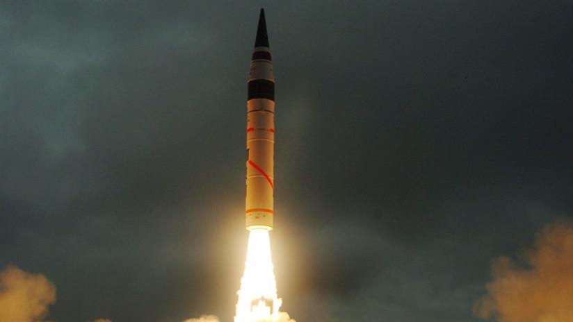 """National Interest: """"Pruebas del misil hipersónico de la India son un paso más hacia una guerra nuclear con Pakistán"""""""