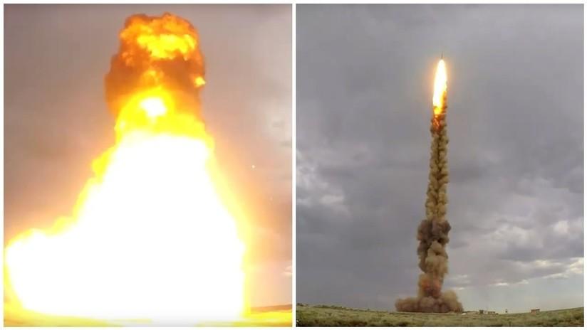 VIDEO: Rusia prueba con éxito un nuevo misil de defensa aérea en Kazajistán