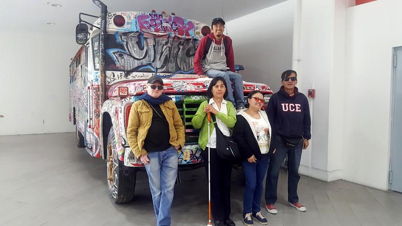 'Viviendo Quito con sentidos': ¿cómo es un recorrido turístico con guías con discapacidad visual?