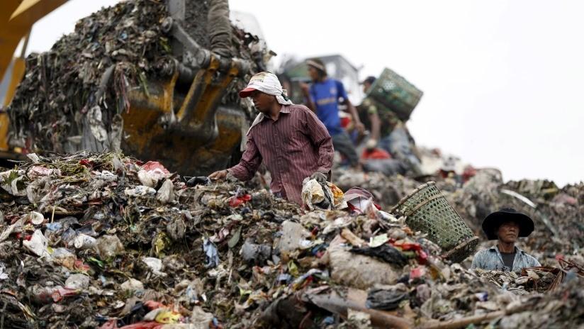 Indonesia enviará contenedores de basura tóxica de vuelta a EE.UU., Australia y varias naciones europeas