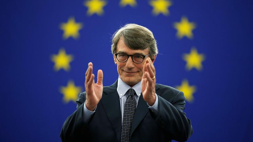 El parlamento europeo elige al socialdem crata italiano for Lavorare al parlamento italiano
