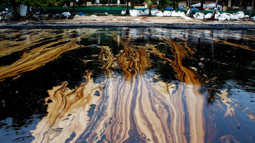 China inventa un nuevo material para limpiar derrames de petróleo