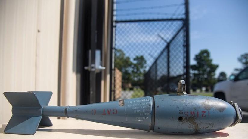 Caza de EE.UU. deja caer tres bombas de entrenamiento sobre Florida tras colisionar contra un pájaro