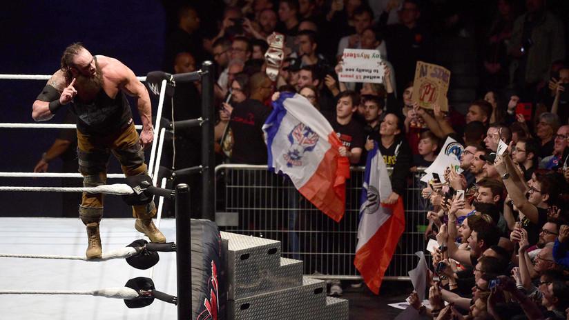 VIDEO: Un golpe que casi le habría costado la vida a una estrella de la WWE durante una pelea