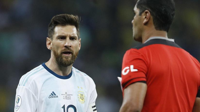 La AFA arremete contra la Conmebol y el arbitraje del último Argentina-Brasil en la Copa América