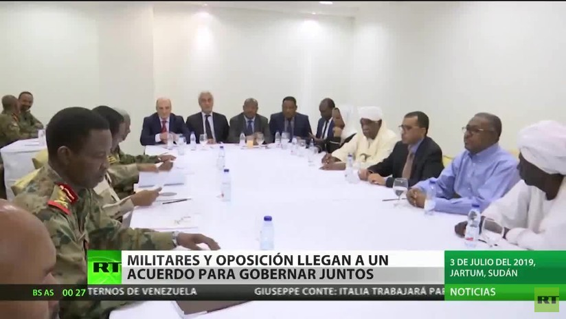 Sudán: Militares y la oposición llegan a un acuerdo para gobernar juntos