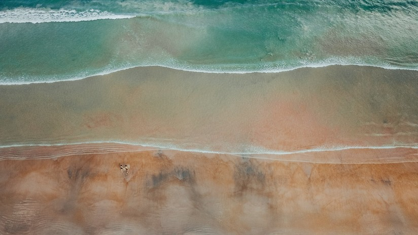 """""""Si puedes ver una playa eres un artista"""": una ilusión óptica desconcierta a los internautas (FOTO)"""