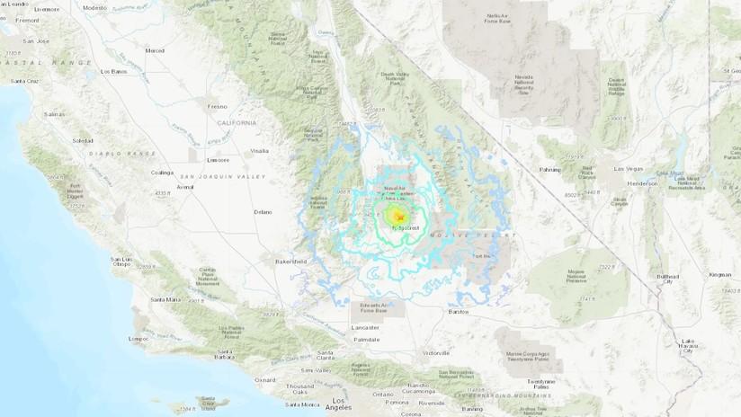 Temblor de magnitud 5,4 en el sur de California tras su sismo más potente en más de dos décadas