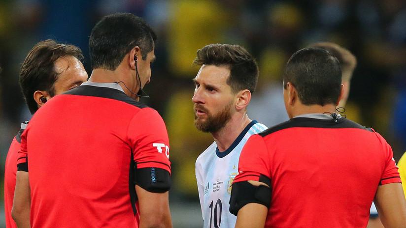 La Asociación del Fútbol Argentino reclama los audios del VAR en su eliminación con Brasil
