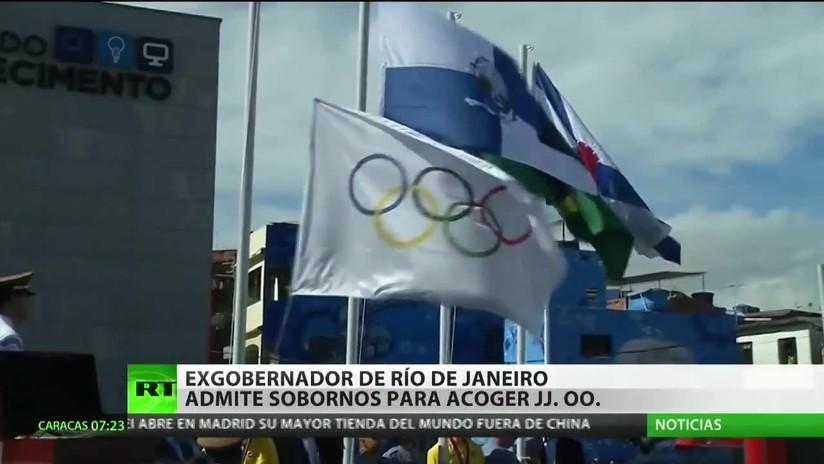 Exgobernador de Río de Janeiro admite sobornos para acoger los Juegos Olímpicos