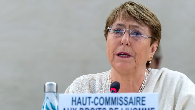 Bachelet informa de la puesta en libertad de 22 detenidos en Venezuela