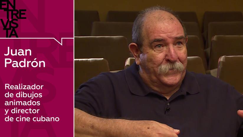 """Caricaturista y cineasta cubano Juan Padrón: """"A veces no consideran al director de películas de animación como un director de cine"""""""