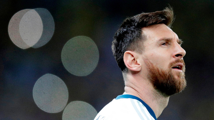 Messi no fue a recibir la medalla por el tercer puesto, enojado con la Conmebol