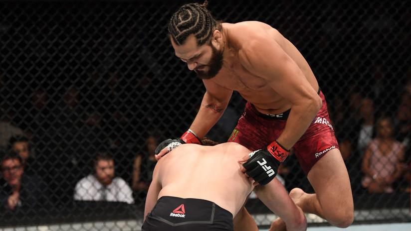 VIDEO: Jorge Masvidal destroza a su rival con un rodillazo volador en solo 5 segundos y logra el 'knockout' más rápido en la historia de la UFC