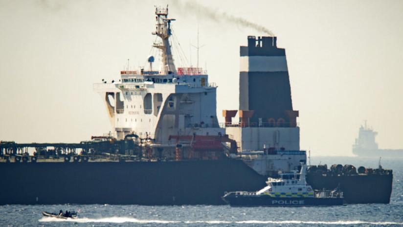 """Teherán: """"El buque cisterna detenido en Gibraltar no transportaba petróleo a Siria"""""""