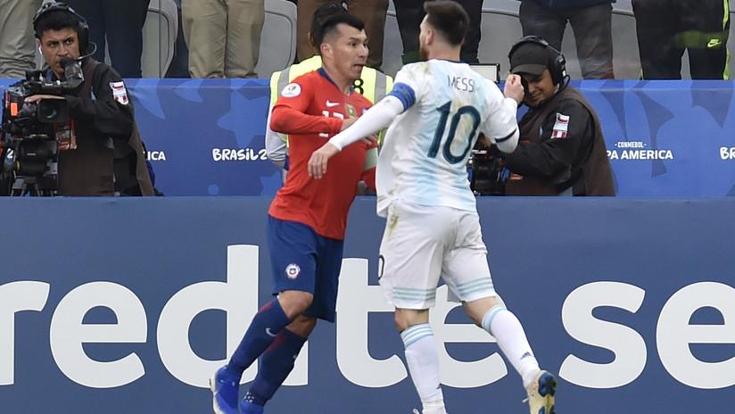 Un informe oficial expone las razones que motivaron la expulsión de Messi y Medel del partido por el tercer puesto en la Copa América