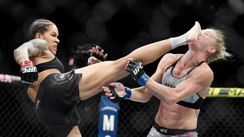 VIDEO: Una luchadora brasilera utiliza la técnica de su contrincante y se corona campeona UFC en el primer 'round'