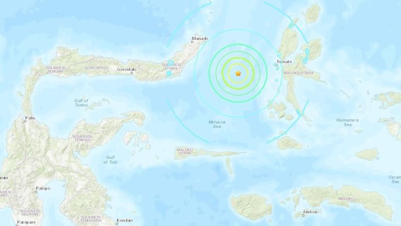 Alerta por un posible tsunami tras un sismo de magnitud 7,0 en Indonesia