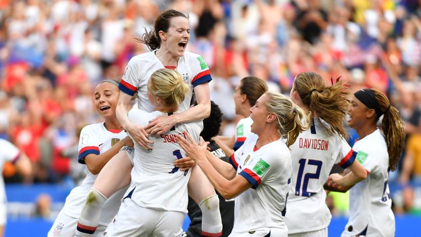 EE.UU. gana el Mundial de fútbol