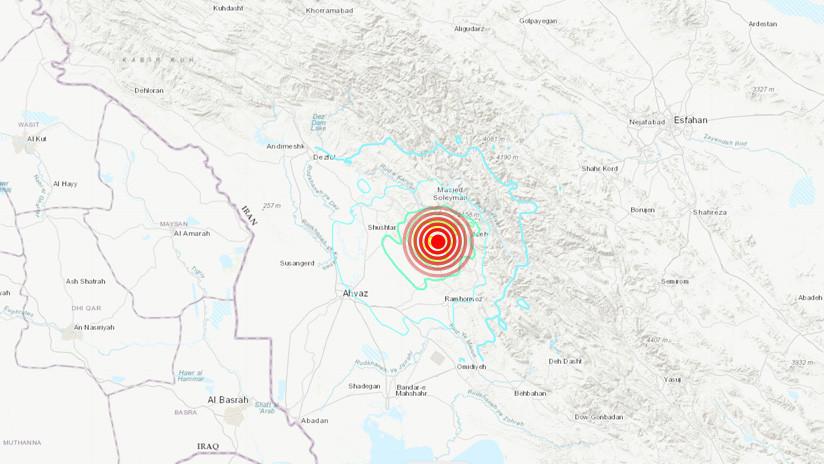 Sismo causa daños en poblado del suroeste de Irán