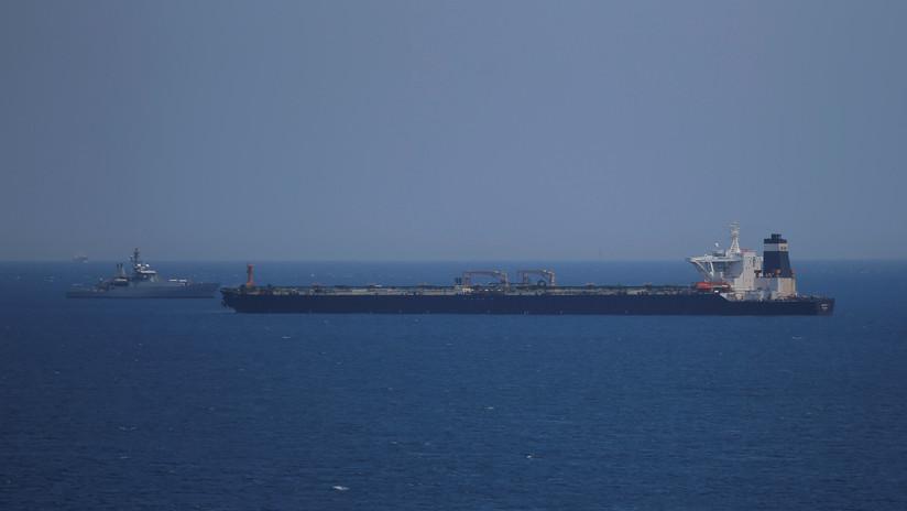 """Teherán: La detención del petrolero iraní por el Reino Unido fue """"un acto de piratería marina"""""""