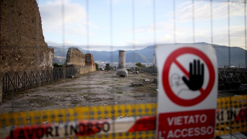 Las ruinas de Pompeya esconden al menos 10 bombas sin explotar de la Segunda Guerra Mundial