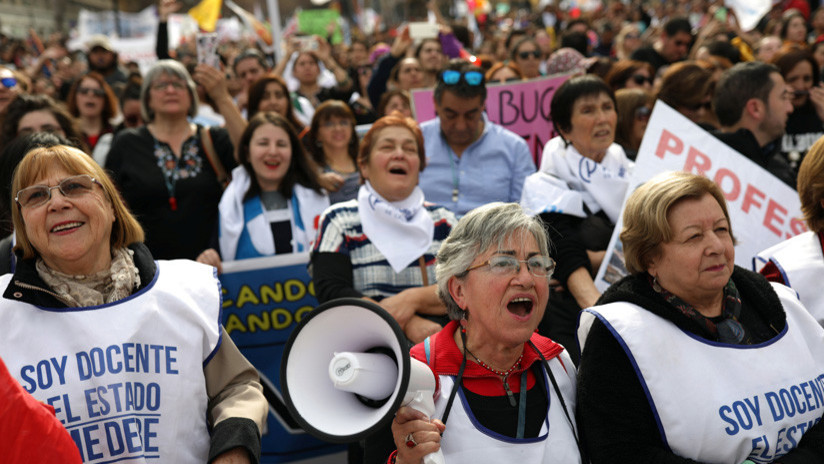 El paro de docentes en Chile entra en su sexta semana, ¿qué piden los profesores?
