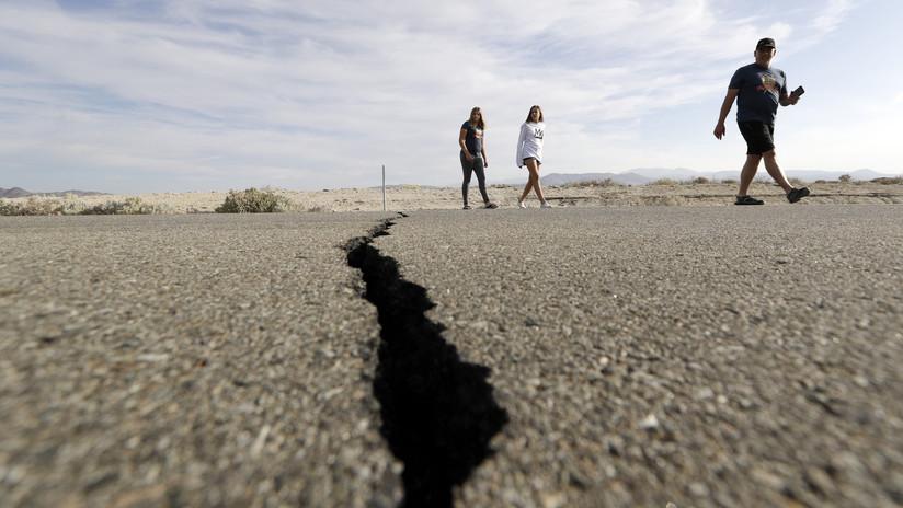 FOTOS: El terremoto de California deja una gigantesca grieta visible desde el espacio