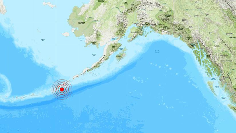 EE.UU.: Un sismo de magnitud 5,4 sacude Alaska