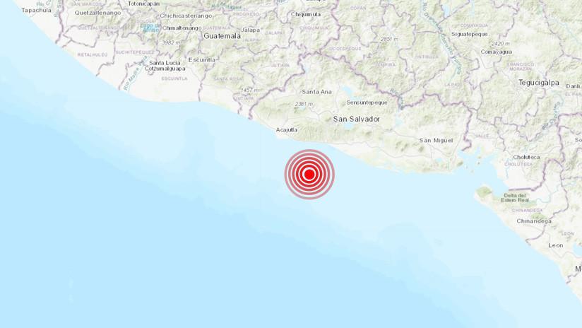 El Salvador: Un sismo de magnitud 4,8 sacude la costa de La Libertad