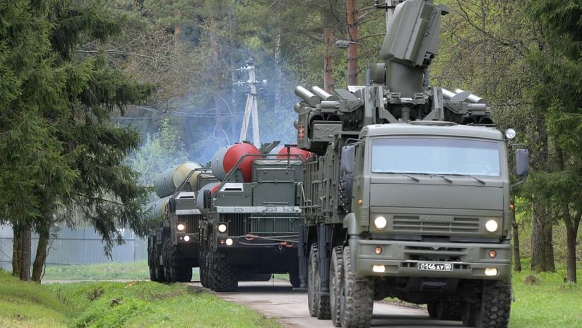 Rusia comienza la entrega de misiles S-400 a Turquía